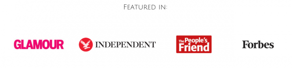 Good News Shared has been featured in Forbes, The Independent, The People's Friend and Glamour Magazine