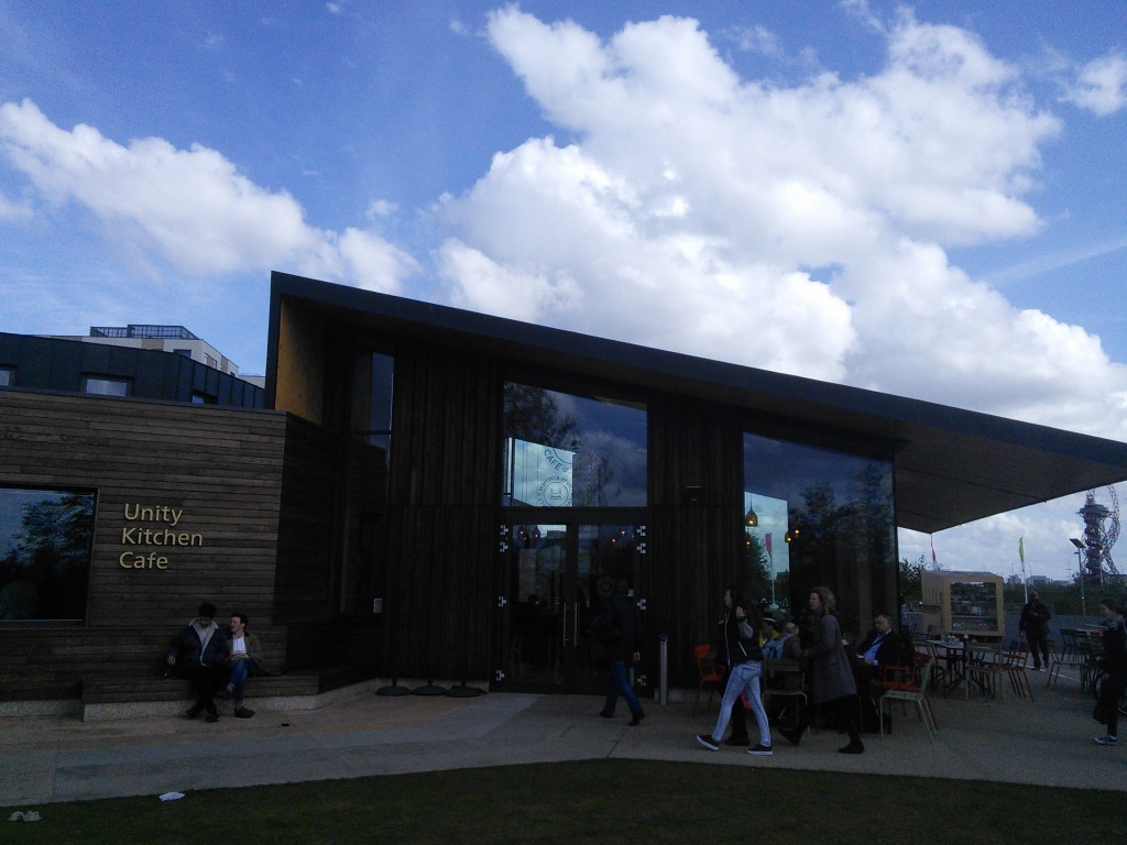 Food for Thought- Unity Kitchen Cafe, Queen Elizabeth Olympic Park