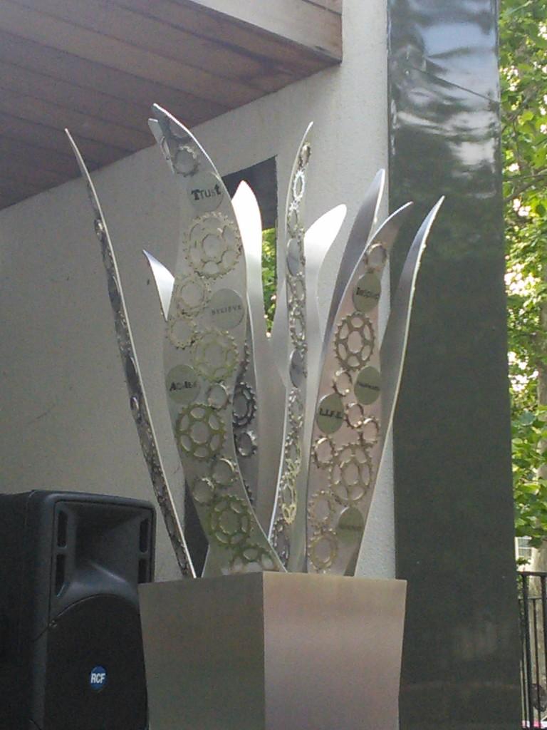 Sir Bradley Wiggins Sculpture South Kilburn