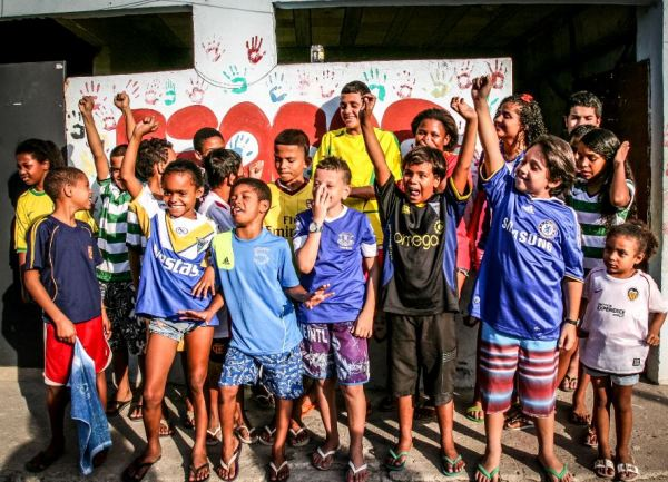 Project Fair Play Brings The Joy Of Football To Brazil's Favelas