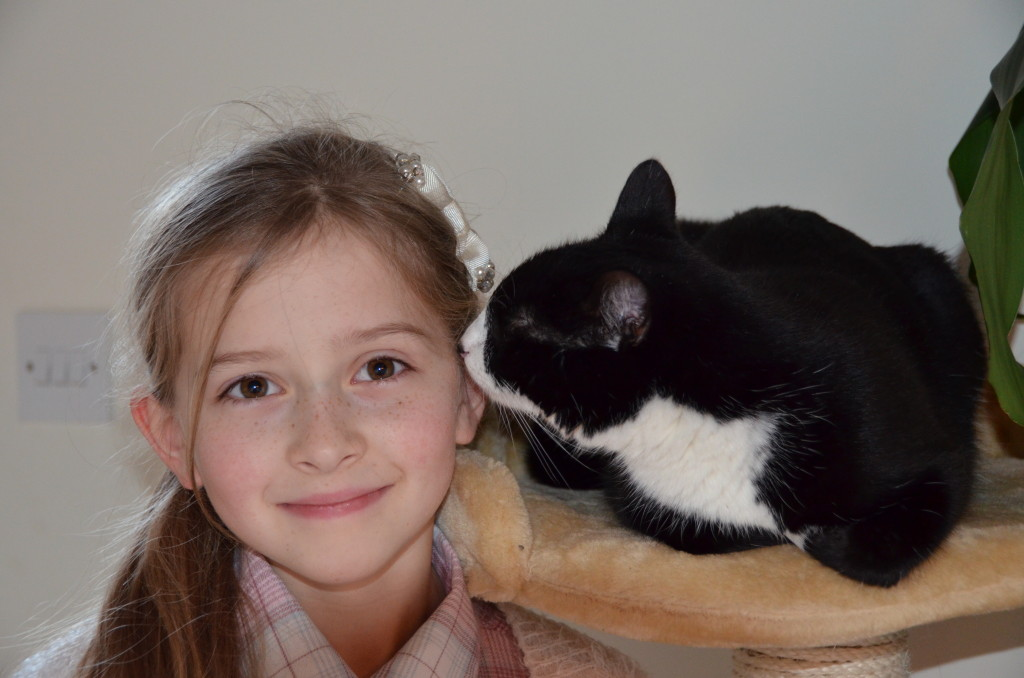 RSPCA Rescue Cat Makes Sure Diabetic Owner Is Feline Fine