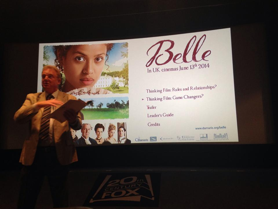 Belle - screening with Damaris Trust