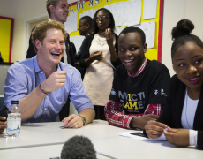 Prince Harry Surprises Invictus Games Digital Media Champions
