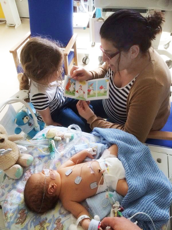 Charity Gifts Books To Neonatal Units To Boost Bonding