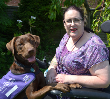 Rescue dogs become assistance dogs