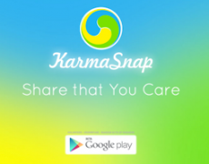 KarmaSnap: A New App for Social Good