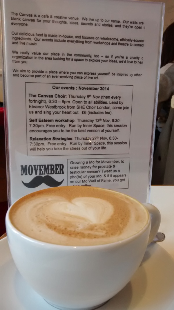 The Canvas Cafe: A Happy Place In London