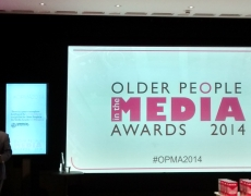 Positive Awards Celebrates Media Coverage on Older People's Issues