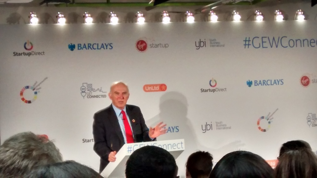 Global Entrepreneurship Week (GEW) Launch event London