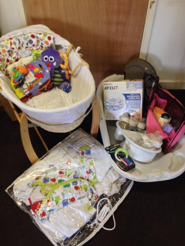 Stripey Stork Donate Baby Clothes to Parents in Need
