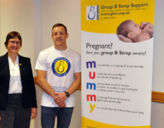 England and St Helen's Rugby League Player Supports National Baby Charity after Son's Illness