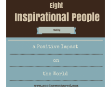 8 Inspirational People Making a Positive Impact on the World