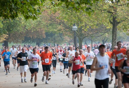 How the Royal Parks Half Marathon Began