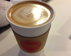 Canvas Coffee Shop: Outstanding coffee at a Train Station