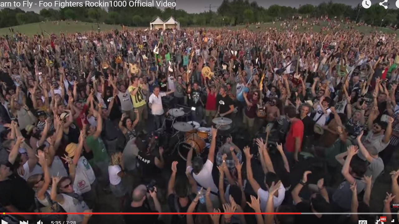 Foo Fighters' Fans Make the Seemingly Impossible Happen