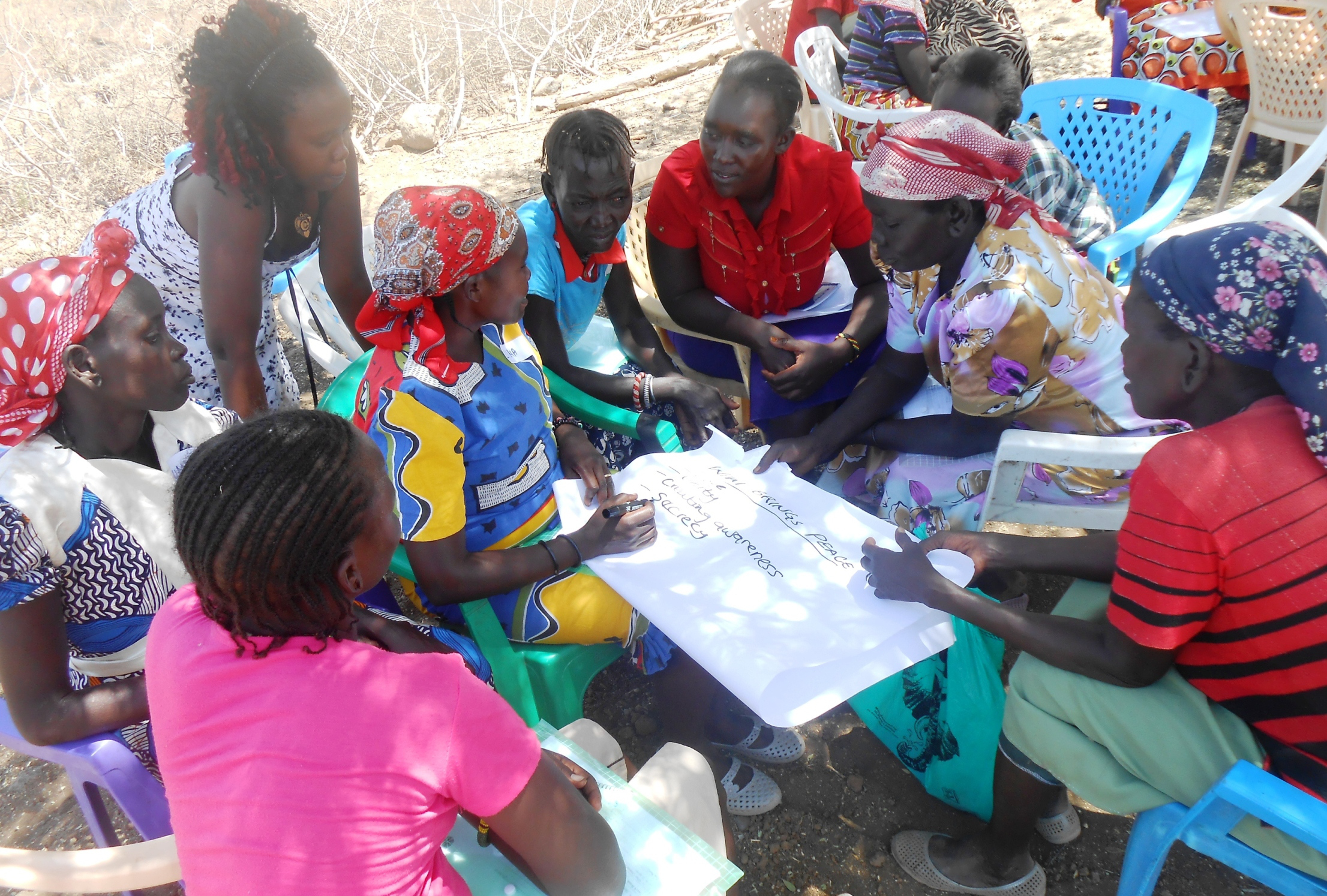 Peace Circles Empower Women to Engage in their Communities