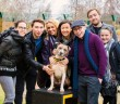 Dog Loving Chicago Stars Visit Rescue Dogs in Manchester