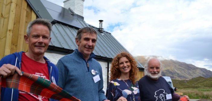 Iconic Highlands bothy reborn as eco-friendly rewilding base