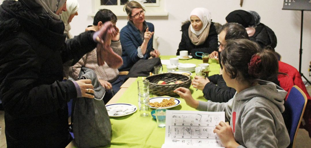 Refugees and Locals in Berlin Good Neighbours Thanks to Begegnungscafé