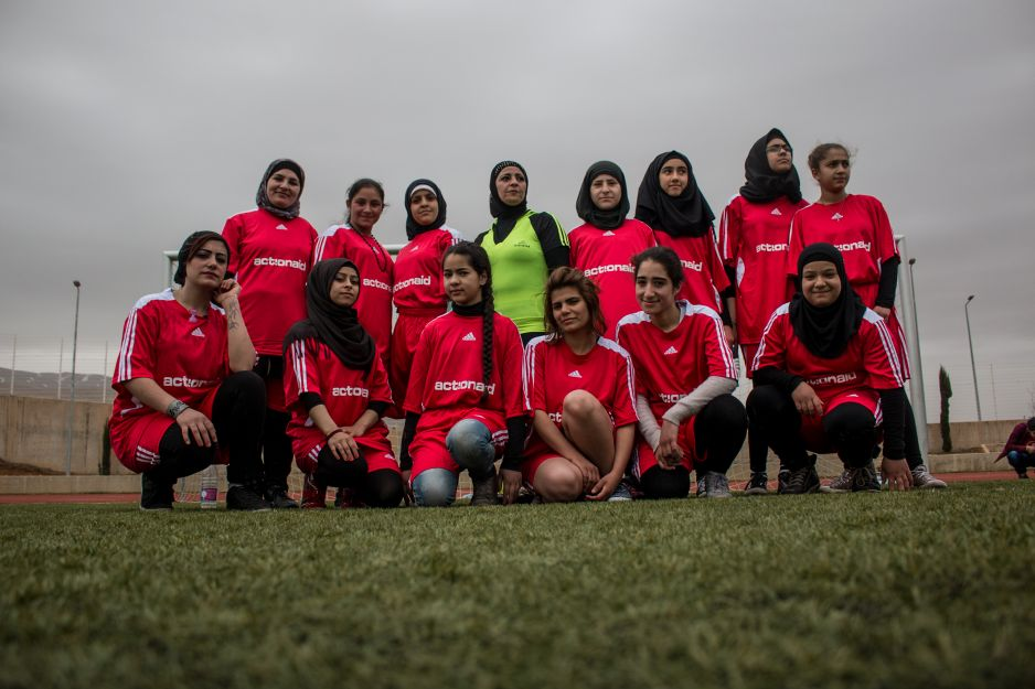The All Female Refugee Football Team Shattering That Glass