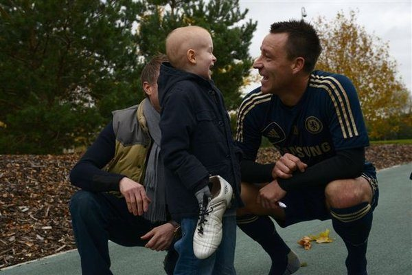 John Terry Given WishMaker Award by Make-A-Wish®