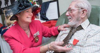 St Helen's World War II Veteran Awarded For His Bravery