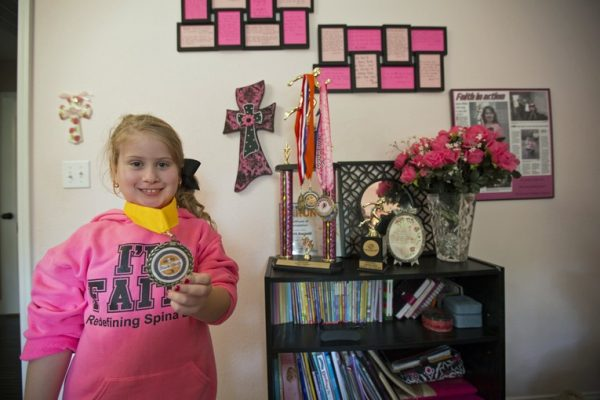 Child Faces Debilitating Diagnosis, Lives Up to Her Name