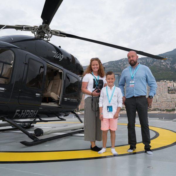 Garron's Superyacht Super Wish in Monaco