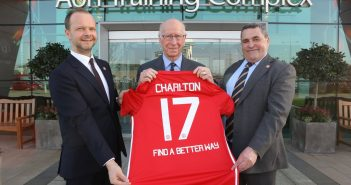 Find A Better Way launch partnership with world famous Manchester United Football Club