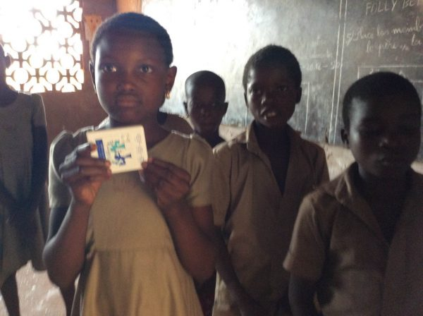 Oral Health Foundation Helping Children in Togo Look After Their Teeth