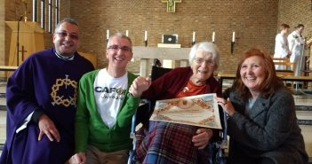 96 Year Old Parishioner Awarded Papal Blessing for 40 Years of Volunteering Service