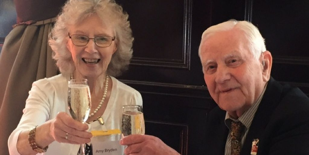 Tyne and Wear Couple Celebrate 70th Wedding Anniversary with Blind Veterans UK