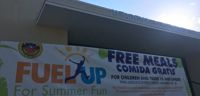 LA Suburb Offers Free Food to Youth During the Summer
