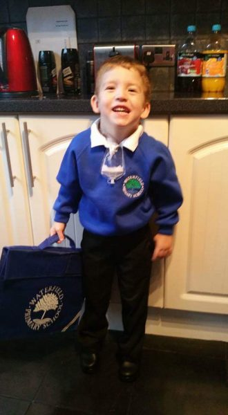 Boy who defied doctors' expectations packs bag ready for school