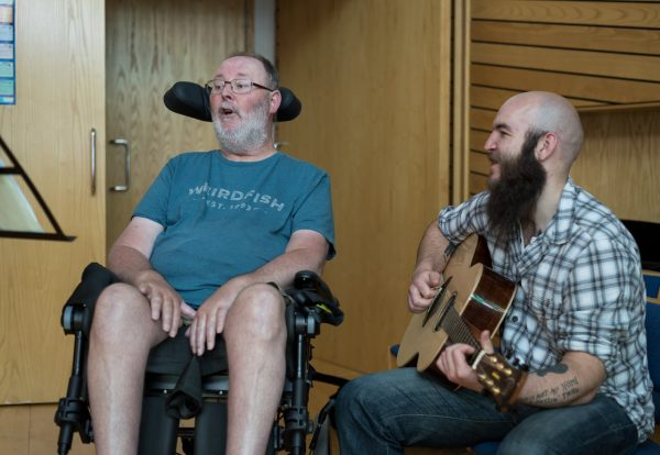 The Swansong Project Giving Patients the Chance to Tell Their Story Through Song
