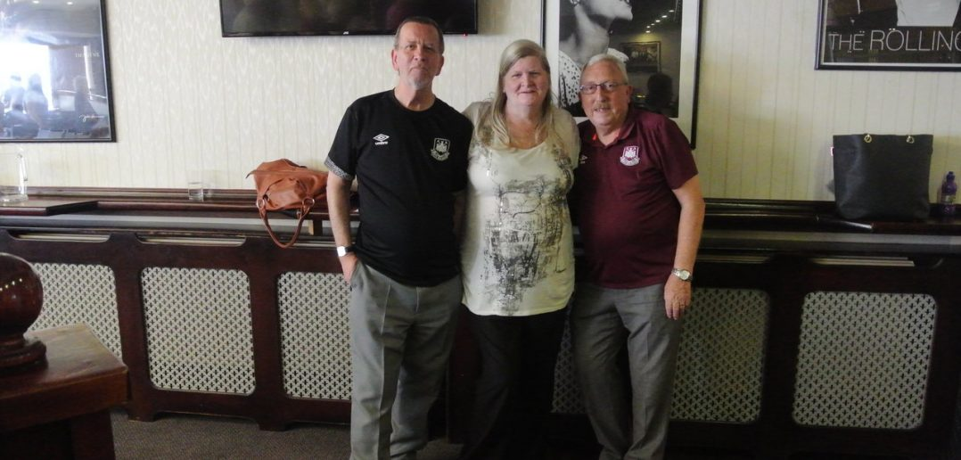 Football Reunites Friends in Chance Meeting After 40 Years