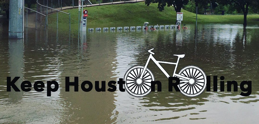 Houston Bike-Share Program to Give Back to Victims of Hurricane Harvey