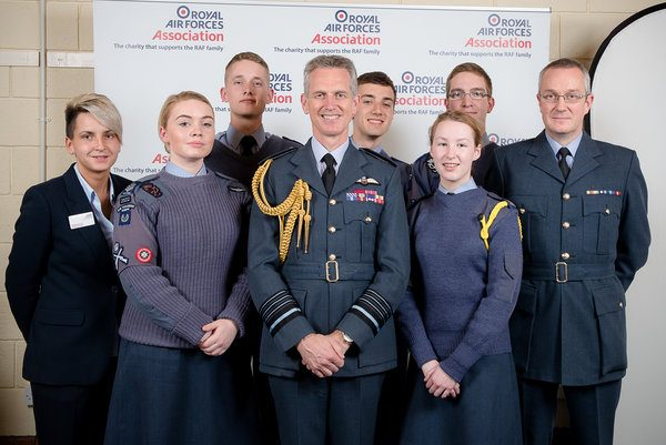 The Sky's the Limit for Air Cadets