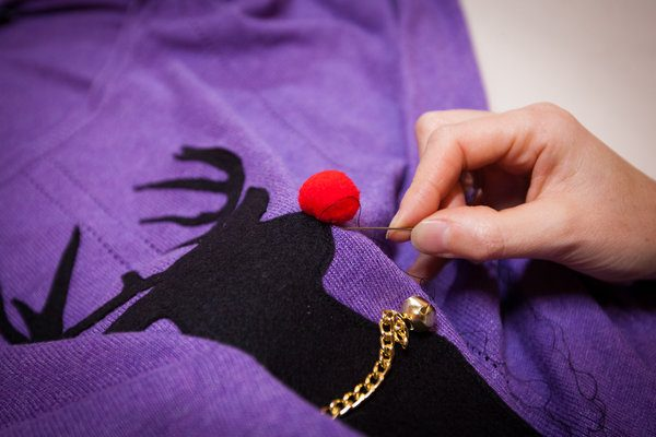 Free festive sewing workshops give Londoners the skills to make their Christmas jumpers sparkle