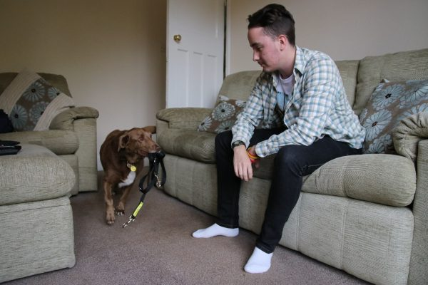 """I couldn't get through each day without my rescue dog"" - Dog-lover with Asperger Syndrome's Life Has Been Transformed"