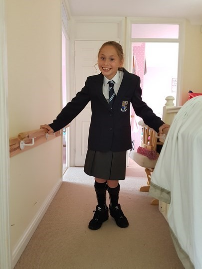 Inspirational 12 Year Old Girl with Cerebral Palsy Stars in New BBC TV advert