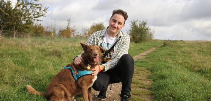 """I couldn't get through each day without my rescue dog"" – Dog-lover with Asperger Syndrome's Life Has Been Transformed"