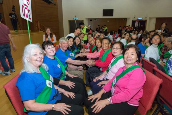 297 Elderly People Given massage to set new Guinness World Record