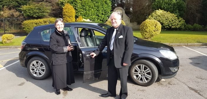 Retired driving instructor belts up to improve road safety and raise money for charity