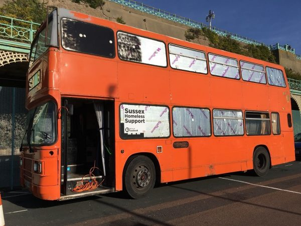 Brighton Bus to Help Homeless People During Royal Wedding