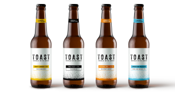 Toast the End of Food Waste with this Award-Winning, Social Beer