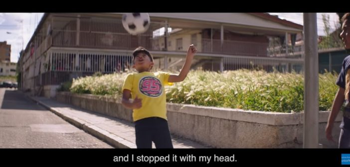 Football Helped Me to Make Friends