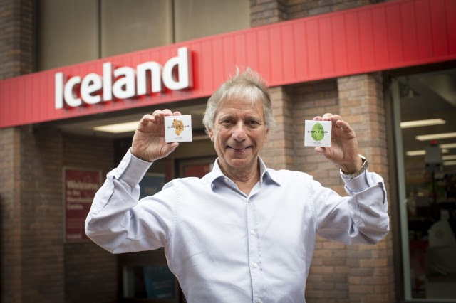 Iceland is the First Supermarket Chain in the UK to Sell Plastic-Free Chewing Gum