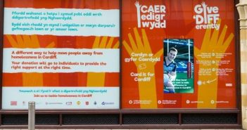 Cardiff Charity Creates Facility for Contactless Donations on the High Street