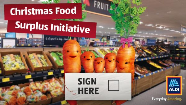 Aldi to Donate Fresh Surplus Food For Christmas: Call to Charities - Apply Now